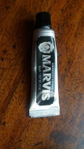 Marvis Amarelli Licorice toothpaste || Four ways to freshen up for (almost) spring: Tuesday Reviews Day 31-01-2017 || Wash, brush, spray, paint || raeritchie.com