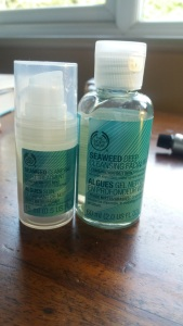 The Body Shop Sewweed face care range || Four ways to freshen up for (almost) spring: Tuesday Reviews Day 31-01-2017 || Wash, brush, spray, paint || raeritchie.com