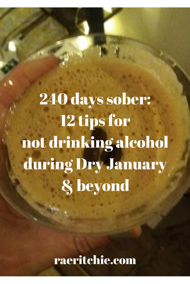 740 days sober- 12 tips for not drinking alcohol during Dry January & beyond