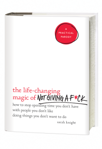 Sarah Knight The Life-Changing Magic of Not Giving a F**k || 2 books to help you make changes || Tuesday Reviews Day 17-01-2017 || raeritchie.com