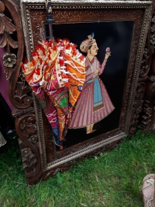 Vintage Fayre, Music Festival: the vintage tent at Coventry's Godiva Festival